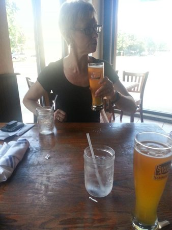 Ducali: Cool beer on a hot day. Great watering hole.