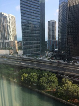 Sheraton Grand Chicago: View from my room