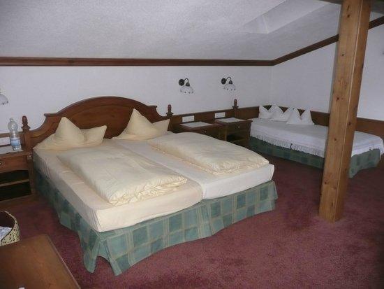 Hotel Haymon : La chambre