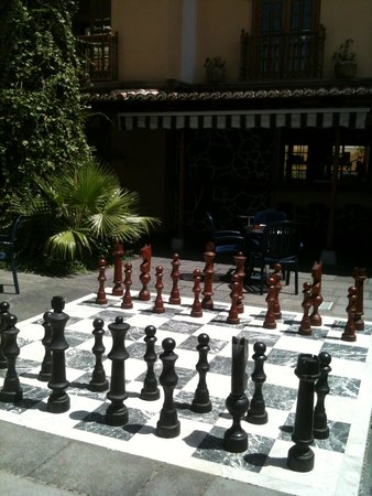 Hotel RF San Borondon : Scacchiera