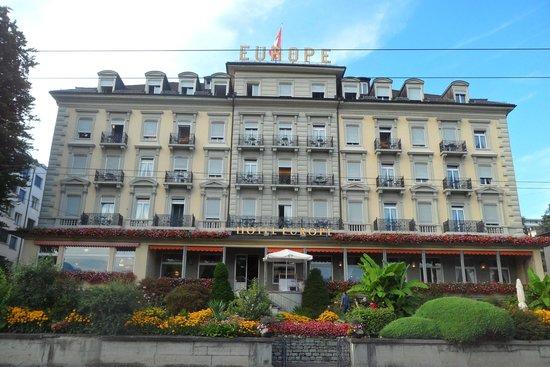 Grand Hotel Europe: Fachada principal del hotel