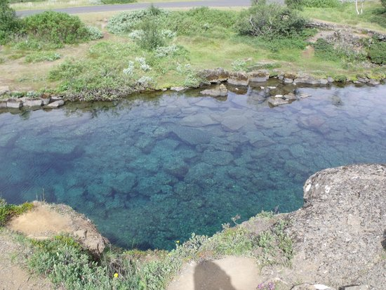 Let's Talk Iceland: a crystal clear pond