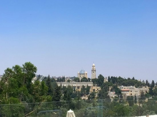 Inbal Jerusalem Hotel: The view