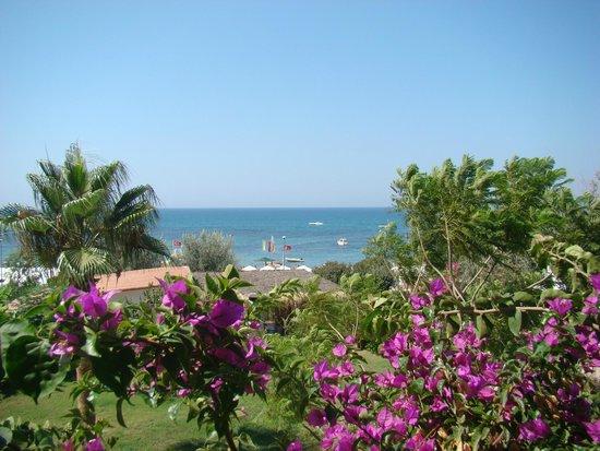 Hotel Side Bella Luna: Vue de la terrasse