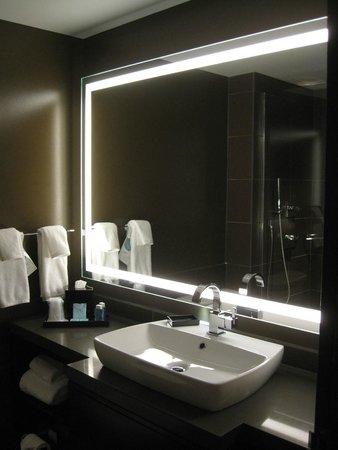 Novotel New York Times Square: Notre salle de bain