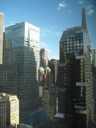 Novotel New York Times Square : Time square view