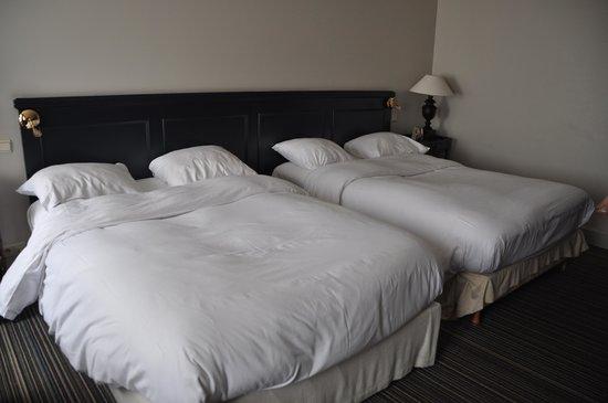 NH Brugge: grandes camas