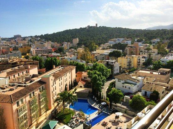 Hotel Isla Mallorca & Spa: View from the balcony