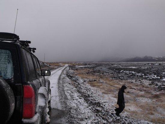 Let's Talk Iceland: barren landscape
