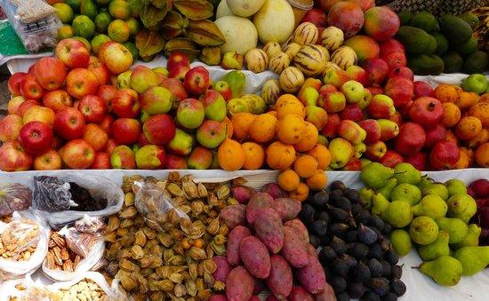 Pisac Market:  Beautiful Produce