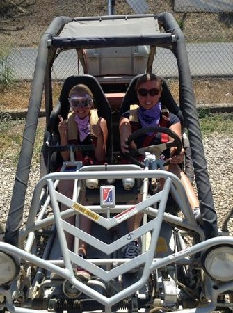 Marbella Buggys: the girls ready to go