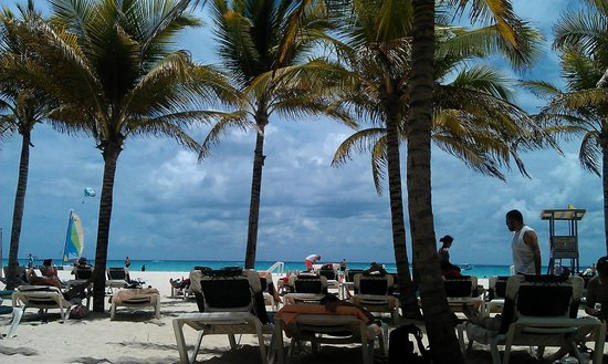 Hotel Riu Playacar: One of the most beautiful beaches