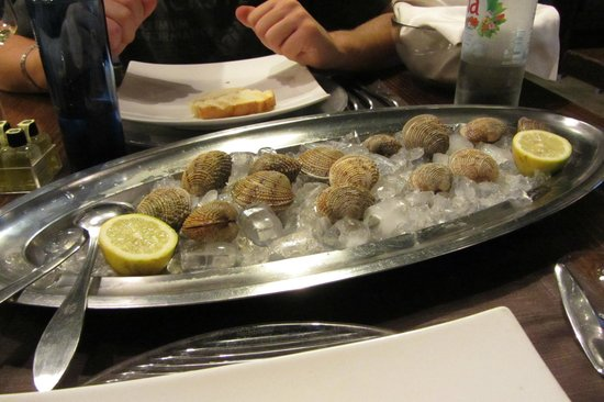 Restaurant Lanterna: Dondoli crudi