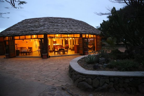 Kia Lodge – Kilimanjaro Airport: Dining