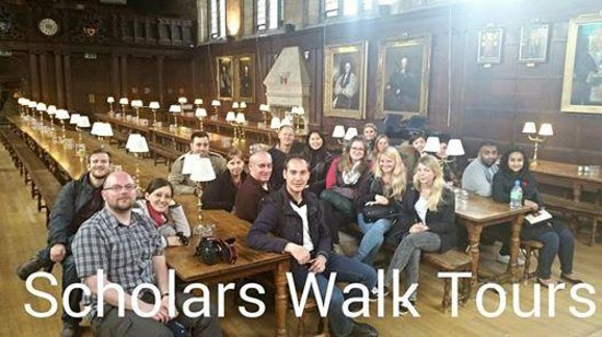 Oxford Smart Walk: The Great Dining hall
