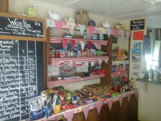 A5 Bacon Bar: interior