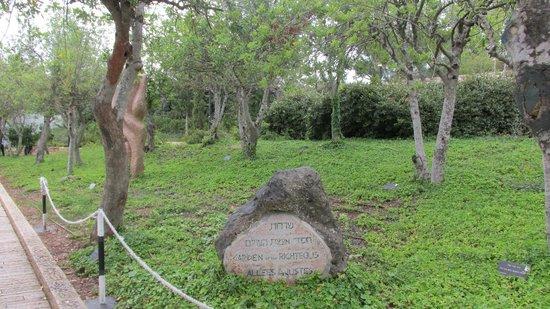 Yad Vashem Holocaust-Gedenkstätte: Jardim dos Justos