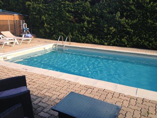 Logis Hotel des Cayrons: Hotel Pool