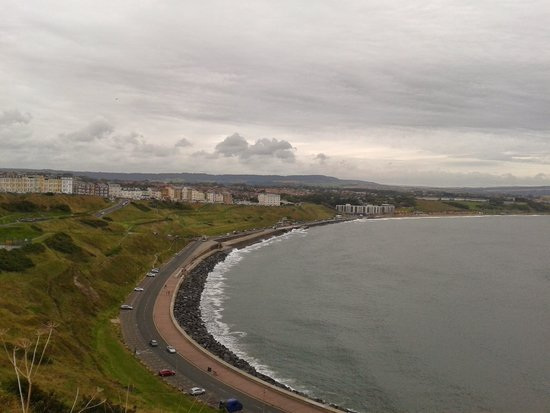 The Clifton Hotel - Scarborough: towards the hotel
