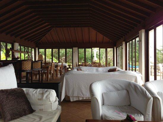 Reef Resort : Restaurant/Relaxation