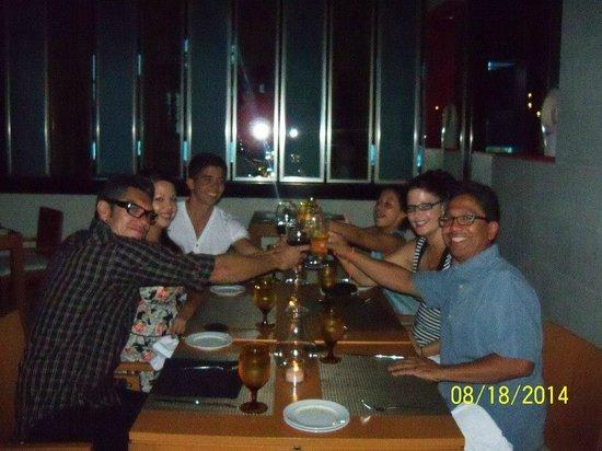 ME Cancun: Dinner at Salt WONDERFUL FOOD