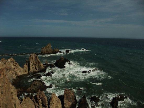 El Parque Natural de Cabo de Gata - Níjar: Acantilado