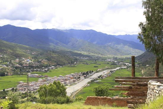 The view from the National Museum of Paro and the valley is stunning!