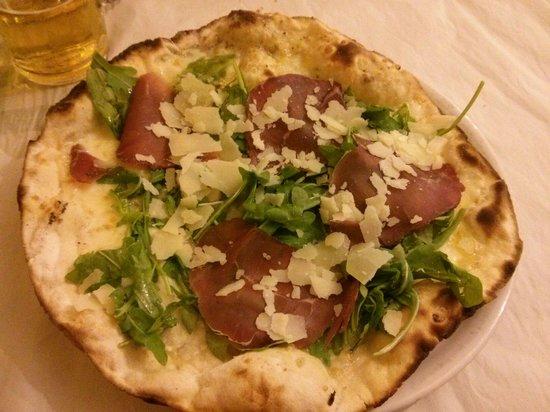 Laboratorio 3: Pizza bianca con bresaola, rucola e scaglie di parmigiano