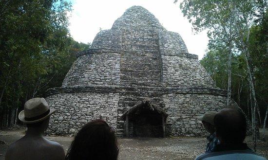 Coba Mayan Traditions: Beautiful temple
