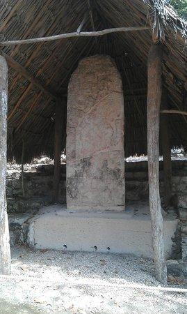 Coba Mayan Traditions: One of the original stones