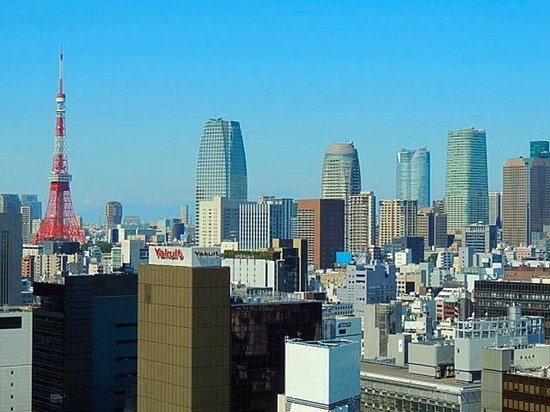 Mitsui Garden Hotel Ginza Premier: View from my room