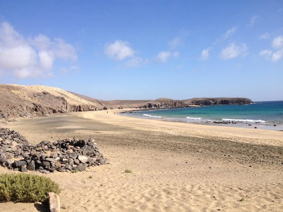 Playa de Papagayo: Caleta del Congrio