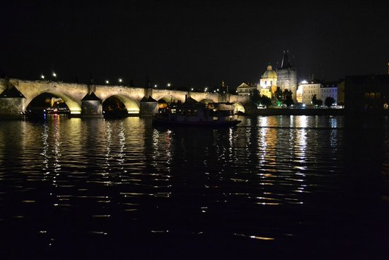 Jazz Boat : View from the boat - Charles Bridge