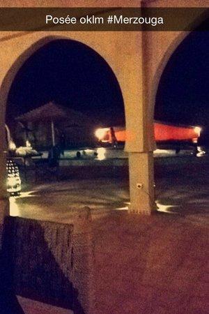 Hotel Riad Ali: Vu du Riad lors du dîner en plein air