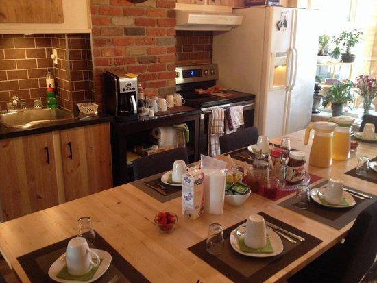 Bed & Breakfast du Village - BBV: Petit déjeuner