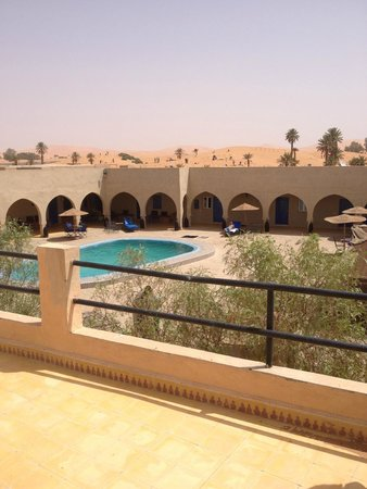Hotel Riad Ali: le Riad Ali vu de la terrasse