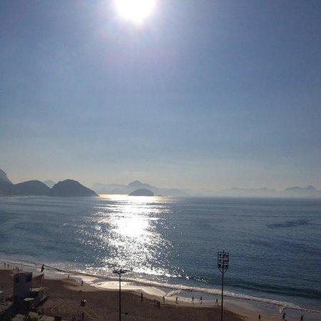 Golden Tulip Rio Copacabana: Vista do apto 1006