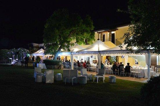 Piana di Monte Verna, Италия: sera