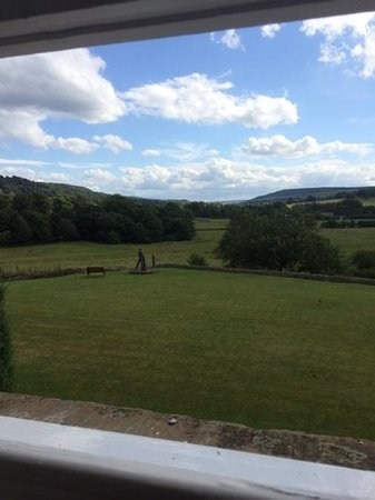 Cavendish Hotel: view over the Chatsworth Estate