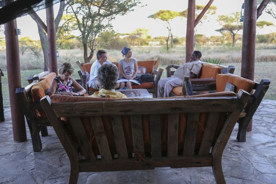 Mapito Tented Camp Serengeti : Terrace
