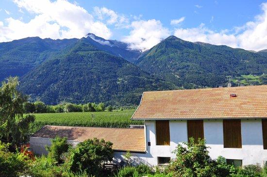 Biohof Schoenthaler: Blick vom Balkon