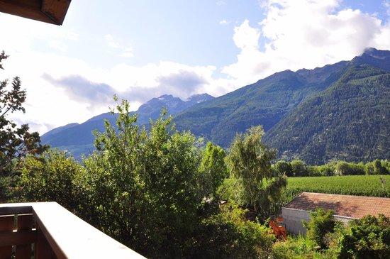 Biohof Schoenthaler: Weiterer Blick vom Balkon