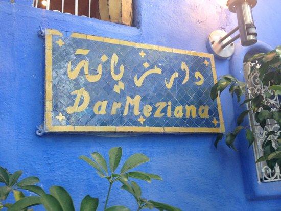 Dar Meziana : ENTRADA