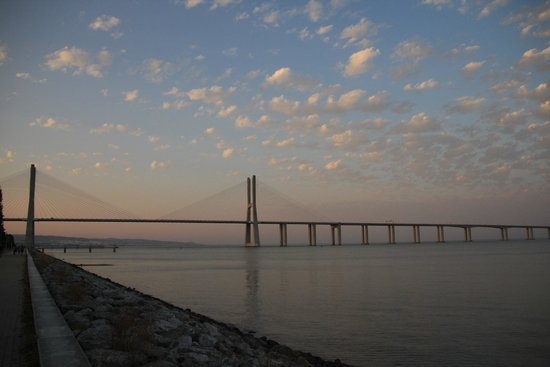 Vasco da Gama Bridge : Puente Vasco Da Gama