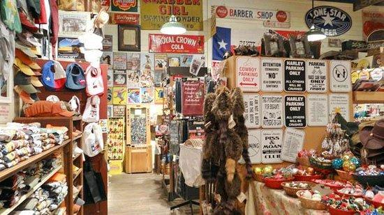 Gruene General Store: inside the store