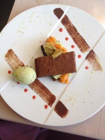 Côteaux & Fourchettes : brownie pistaches