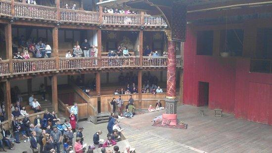 Shakespeare's Globe Theatre : Aug 2014