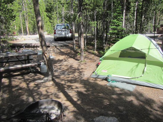 Canyon Village Yellowstone : Easy set up