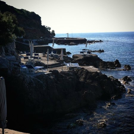 Hotel Punta Rossa: the view from a suite