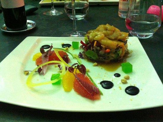 La Romana : Insalata di crevettes